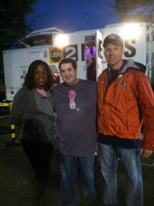 Thank you ABC 2 for supporting the Race For The Cure every year! Kelly Swoope and Wyatt Everhart pictured.