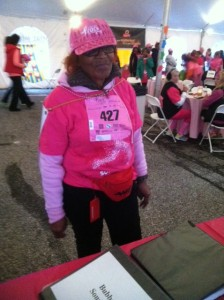 Darlene Stewart, a 50 year breast cancer survivor